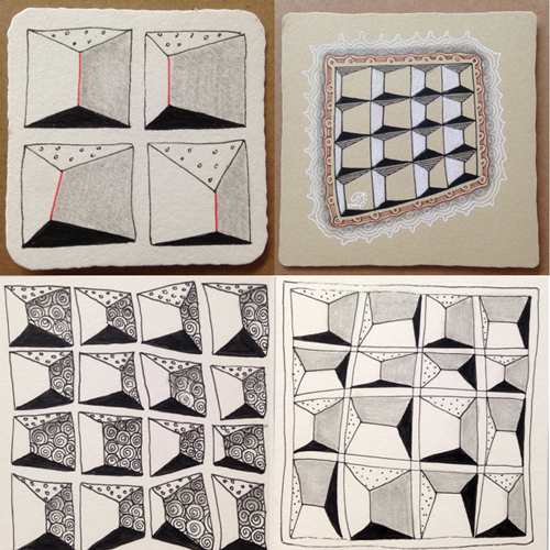 0-9 Zentangle Patterns & Stepouts 3d-roo11
