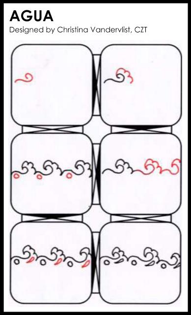 A Zentangle Patterns & Stepouts Agua10