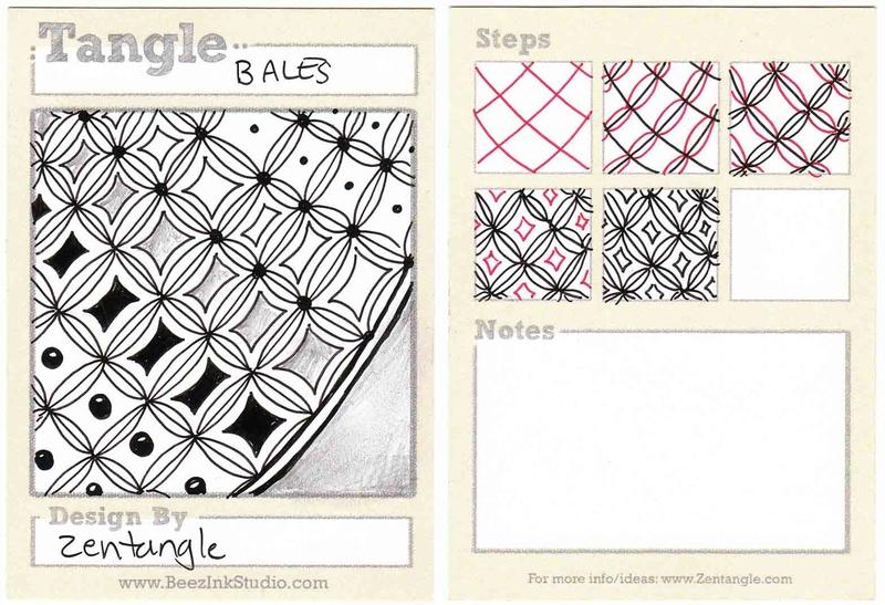 B Zentangle Patterns & Stepouts Bales10