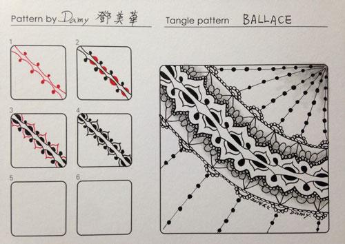 B Zentangle Patterns & Stepouts Ballac10