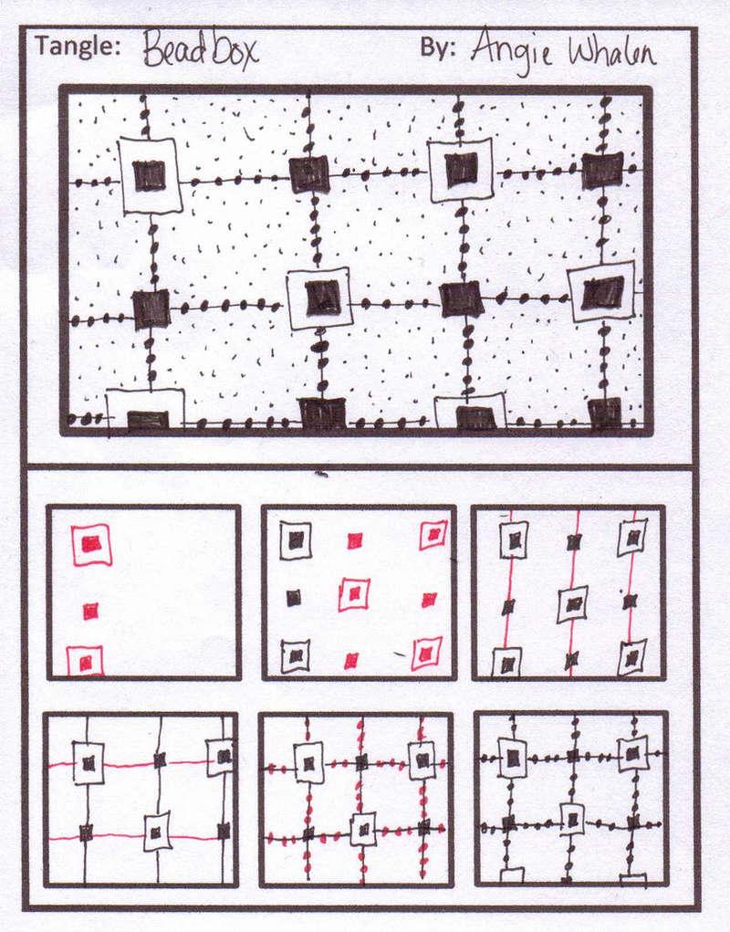 B Zentangle Patterns & Stepouts Beadbo10