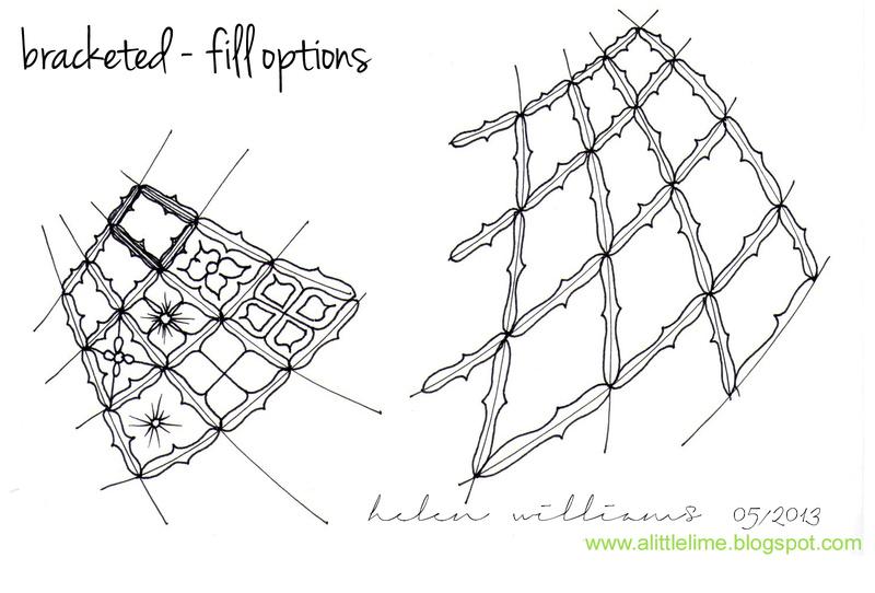 B Zentangle Patterns & Stepouts Bracke12