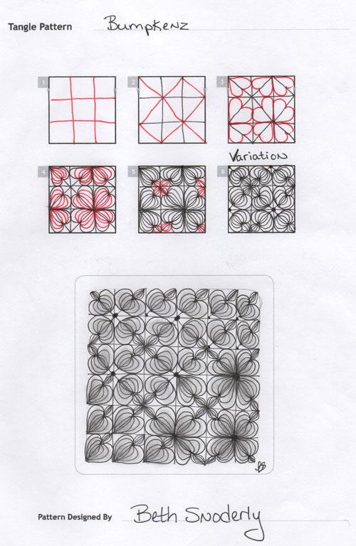 B Zentangle Patterns & Stepouts Bumpke10