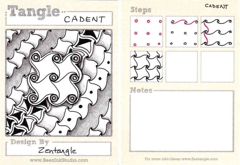 C Zentangle Patterns & Stepouts Cadent10