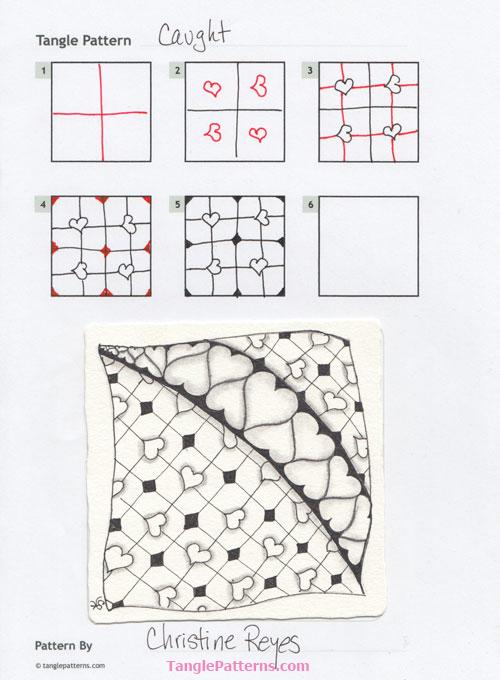C Zentangle Patterns & Stepouts Caught10