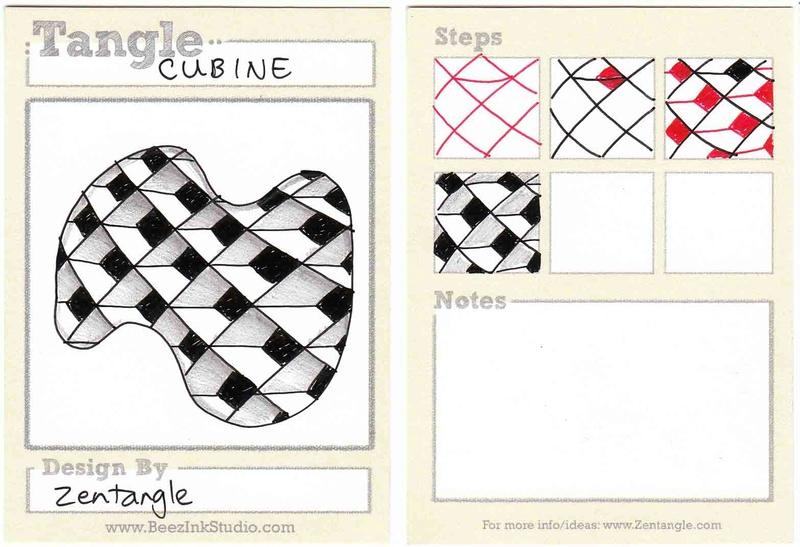 C Zentangle Patterns & Stepouts Cubine10
