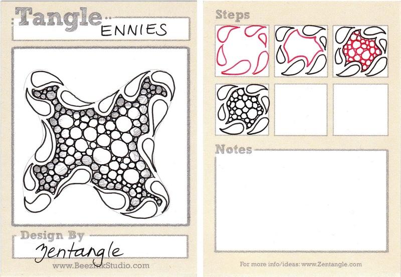 E Zentangle Patterns & Stepouts Ennies10