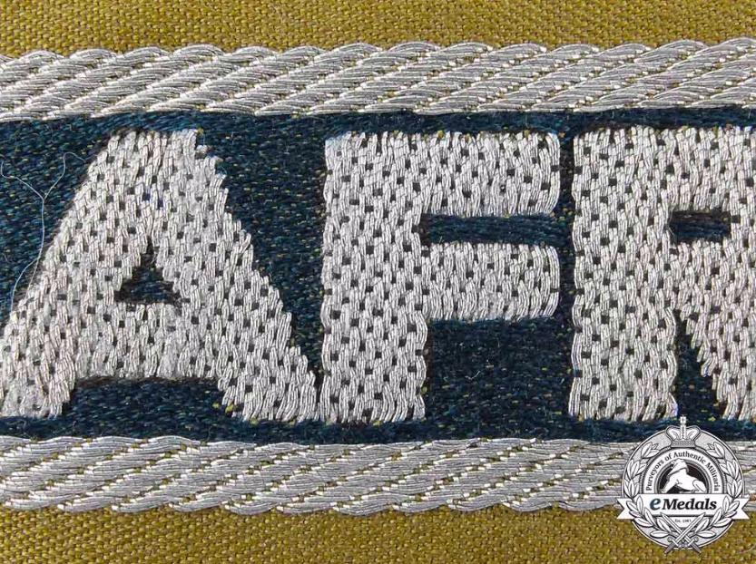 Bandes de bras sous-officier Feldgendarmerie / Afrikakorps. Authentification. Captur11