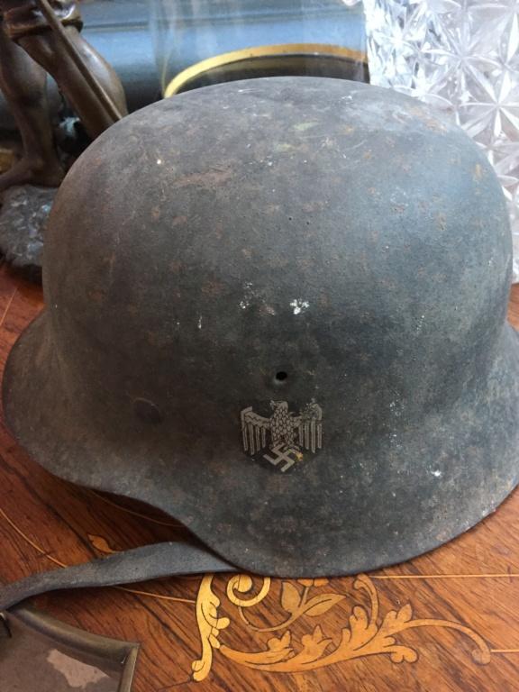 Casque allemand 1942 insigne Heer Img_1411