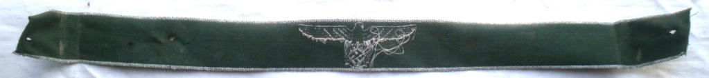 Authentification d'une bande de bras des douanes allemandes P4232813