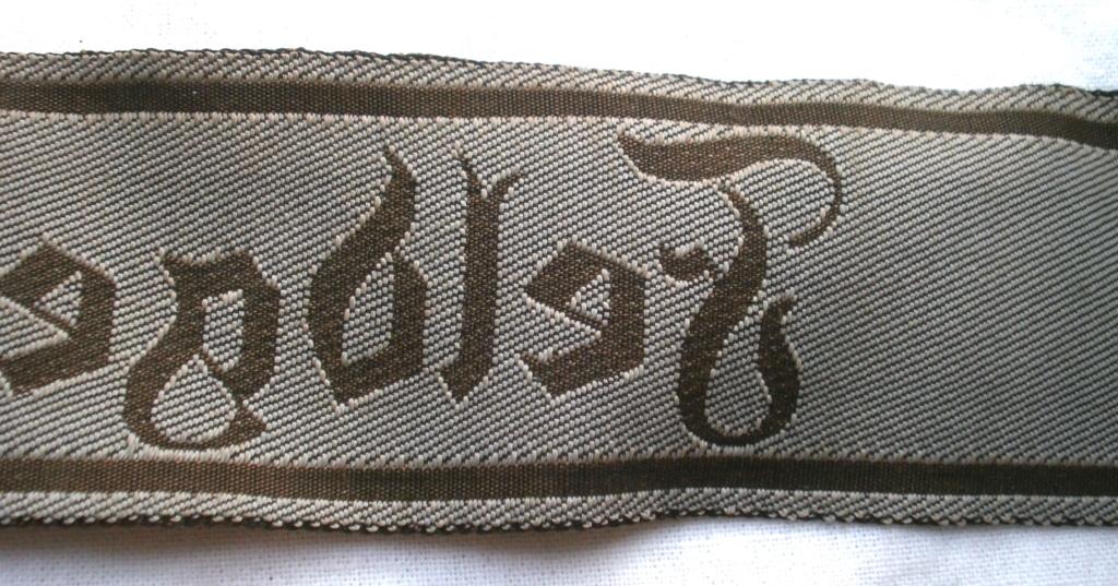 Bandes de bras sous-officier Feldgendarmerie / Afrikakorps. Authentification. P4232822