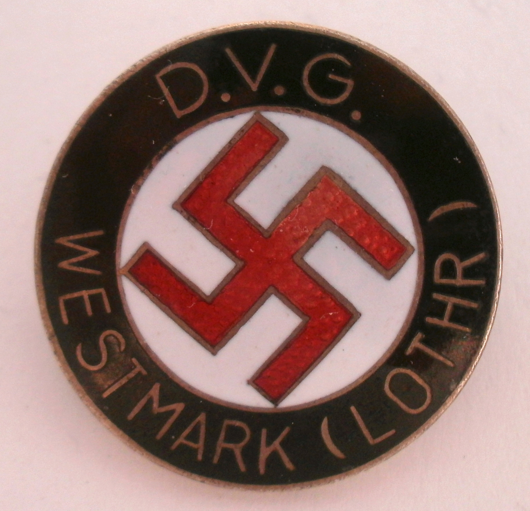 Authentification - Deutsches Volksgemeinschaft Westmark (D.V.G.) Lothringen P5062810