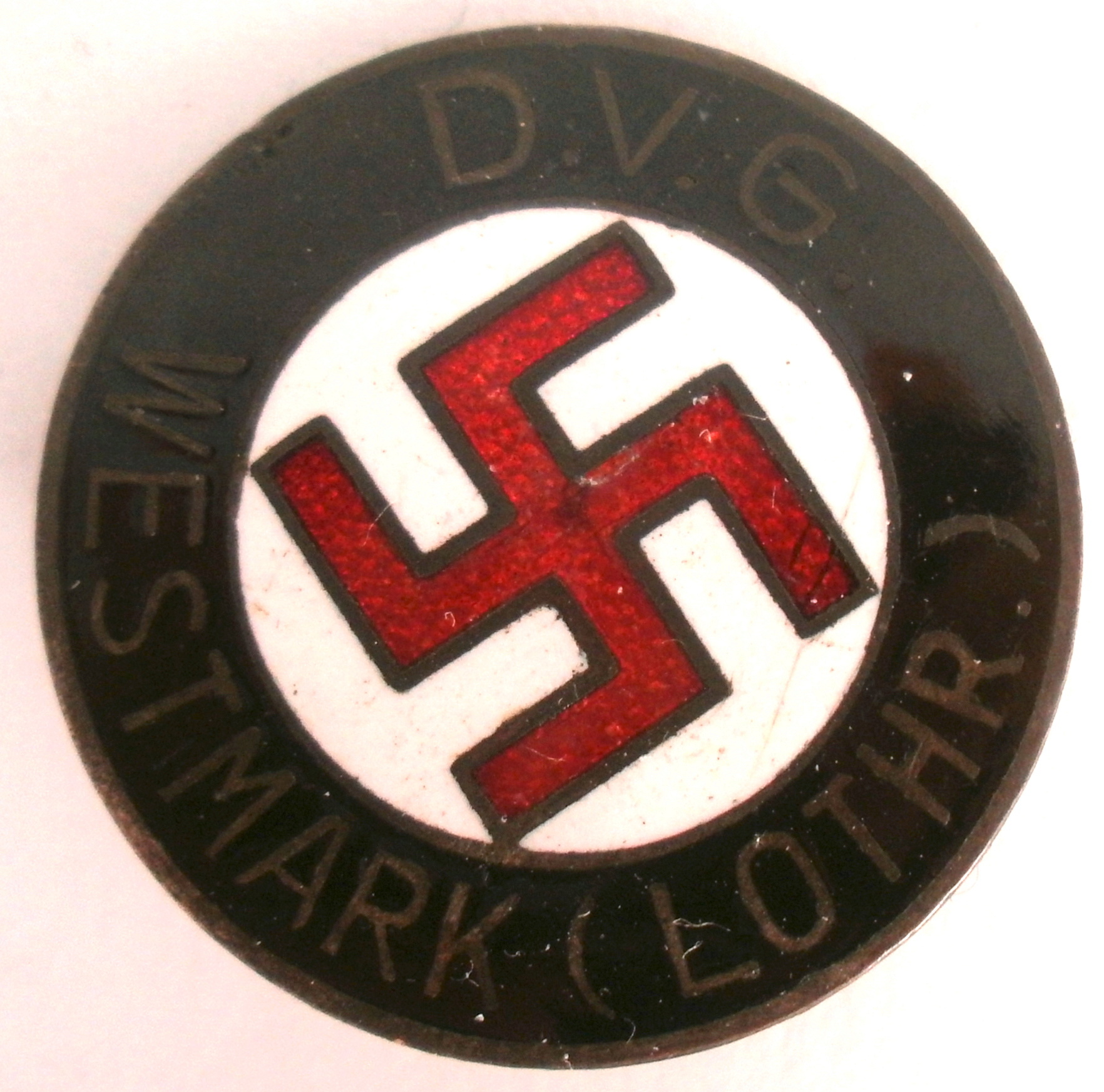 Authentification - Deutsches Volksgemeinschaft Westmark (D.V.G.) Lothringen P5062825