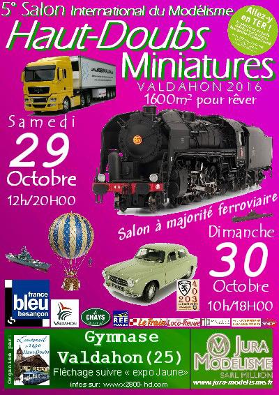 Haut-Doubs miniatures 2016 - 29-30 octobre 2016 Affich10