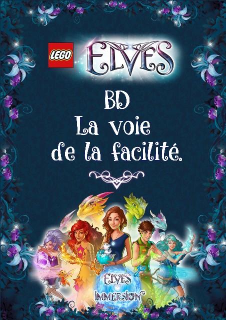BD LEGO®Elves La voie de la facilité Couver10
