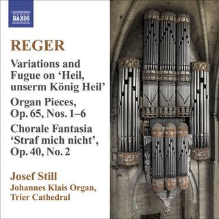 reger - Reger - Oeuvres pour orgue 500x5011