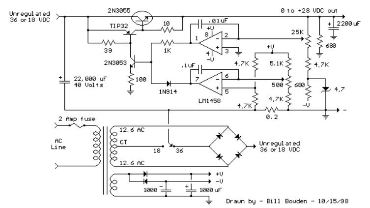 Alimentation variable en tension et courant Screen14