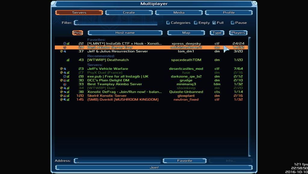 nice action & full server Xonoti16