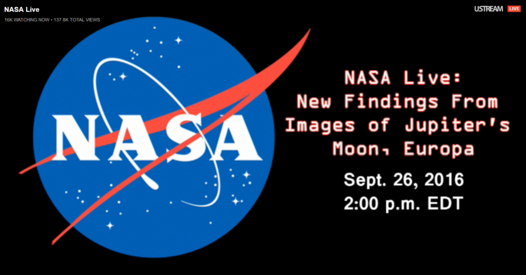 La NASA va révéler des «activités surprenantes» sur Europe, une lune de Jupiter 010