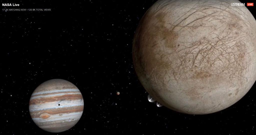 La NASA va révéler des «activités surprenantes» sur Europe, une lune de Jupiter 110