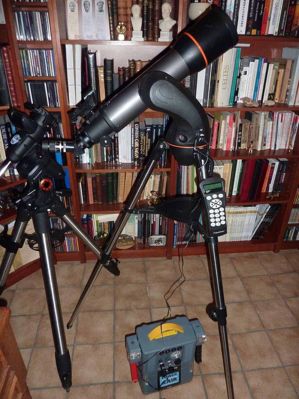 Télescope Celestron AC 102/660 NexStar 102 SLT GoTo  P1060713