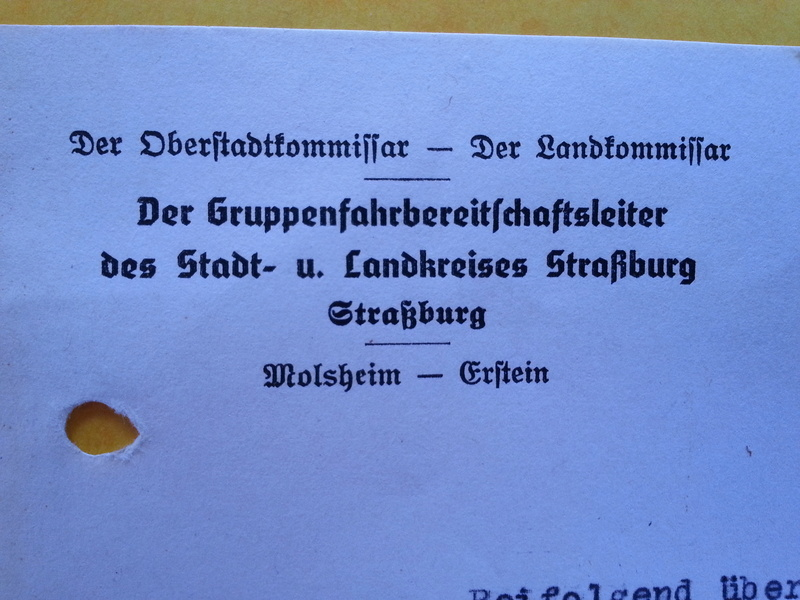 traduction document All avec l'annotation Heil Hit....ww2 20121138