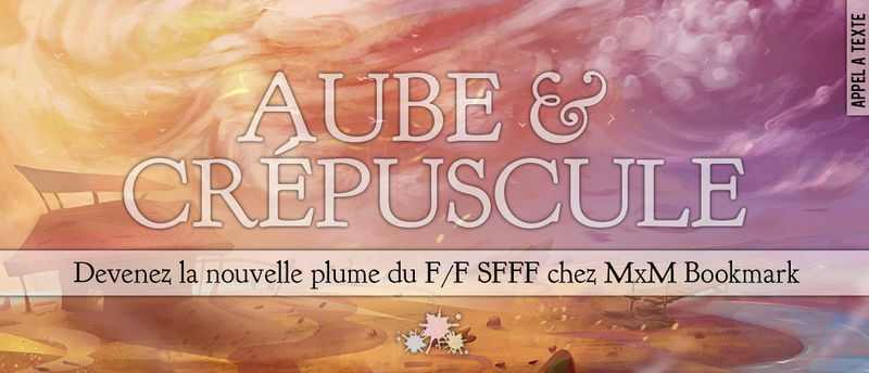 AT Editions MxM Bookmark : Aube & Crépuscule At510