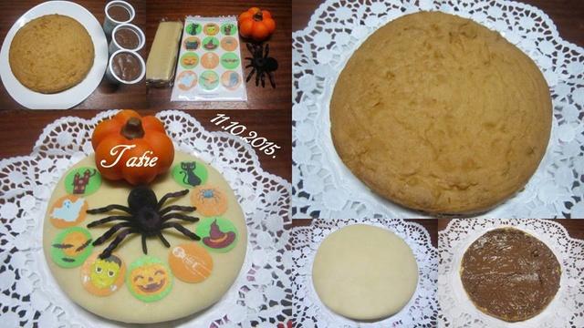 Gâteau chocolaté Halloween. 12122410