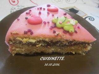 Gâteau au chocolat .pâte d'amande.sans cuisson. Img_3610