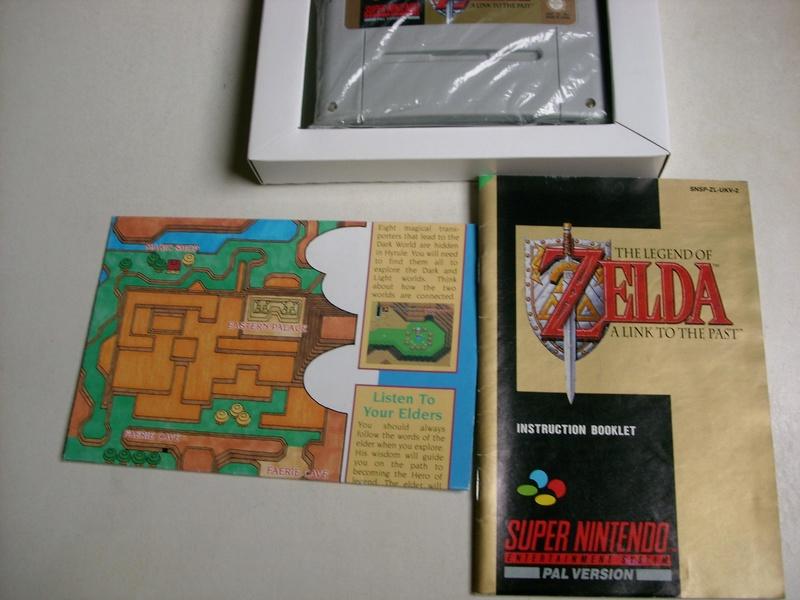 [ESTIM] Zelda 3 complet UKV et Pack Super Mario Bros 3 Ziii411