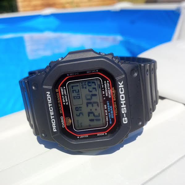 chronographes étanches et utilisables sous l'eau G-shoc11