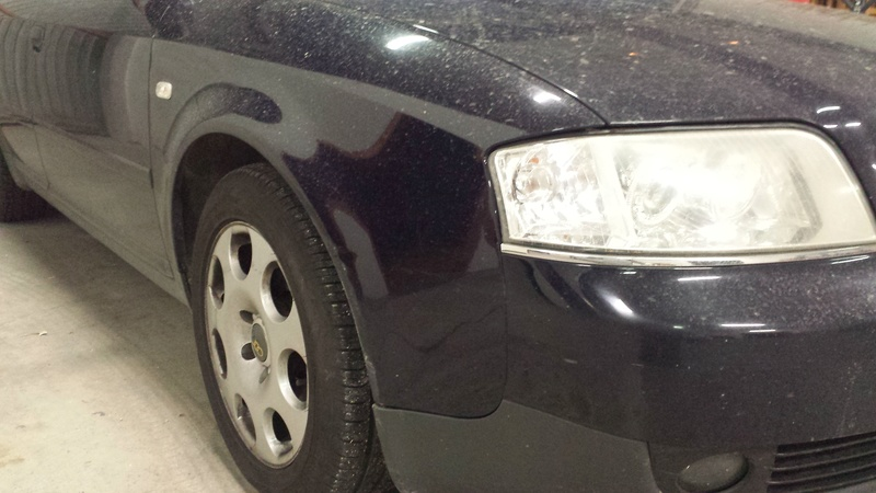 frask Vs Audi A6 SW 510