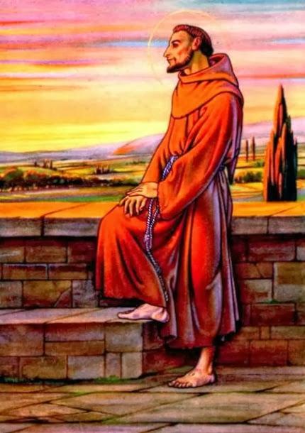 Neuvaine à saint François d'Assise Du 26 septembre au 4 octobre Fête de saint François 11260311