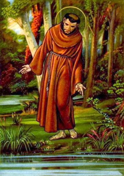 Neuvaine à saint François d'Assise Du 26 septembre au 4 octobre Fête de saint François 11260315