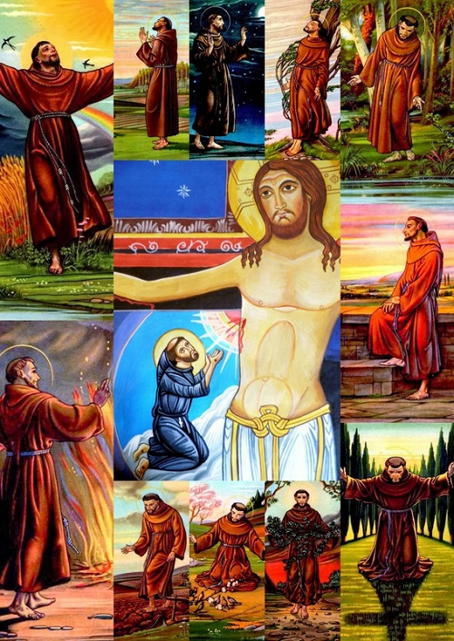 Neuvaine à saint François d'Assise Du 26 septembre au 4 octobre Fête de saint François 11260321