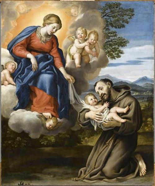 Neuvaine à saint François d'Assise Du 26 septembre au 4 octobre Fête de saint François 5d082510