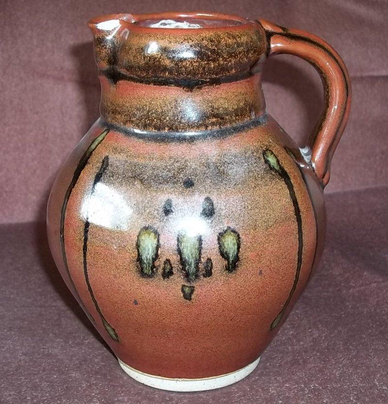 Stoneware jug A over B. 100_3220