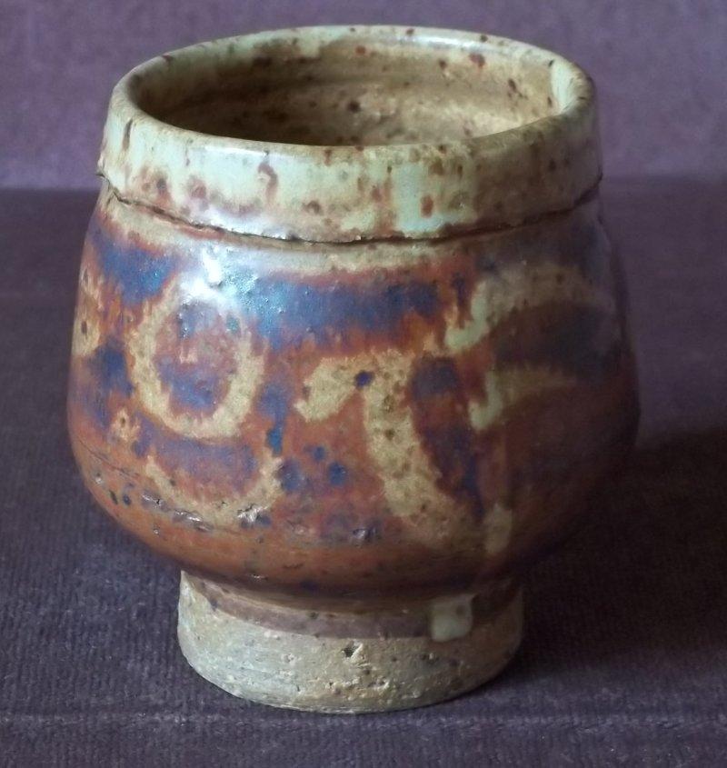 Stoneware teabowl - Charles Hair? 100_3231