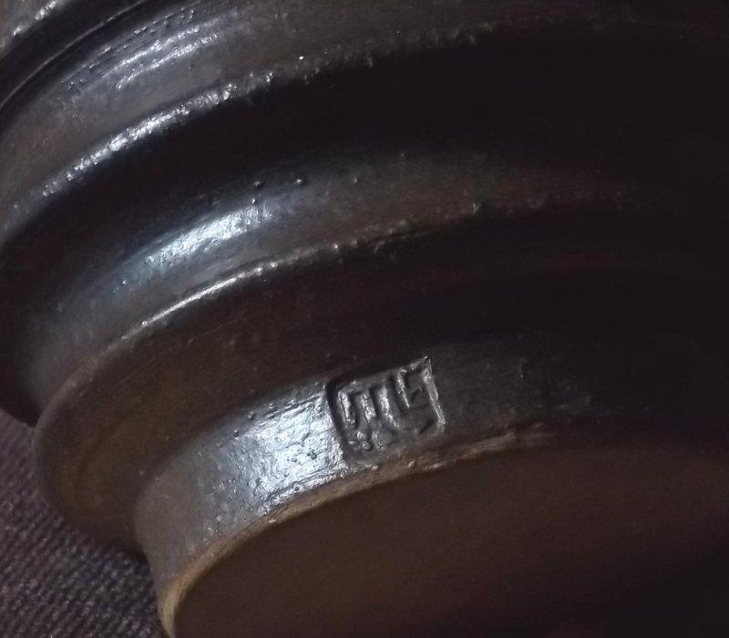 Stoneware vessel, scorpio mark 100_3239