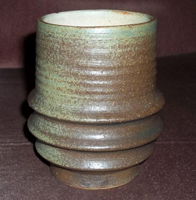 Stoneware vessel, scorpio mark 100_3240