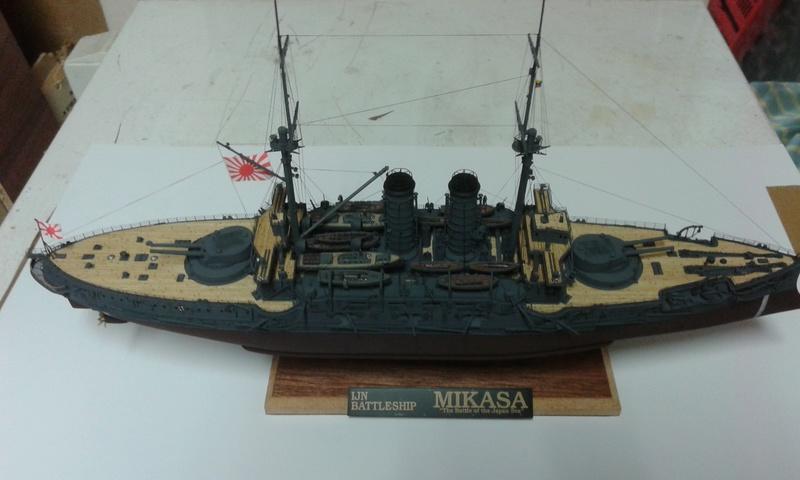 Mikasa 1/350 Hasegawa 20161032