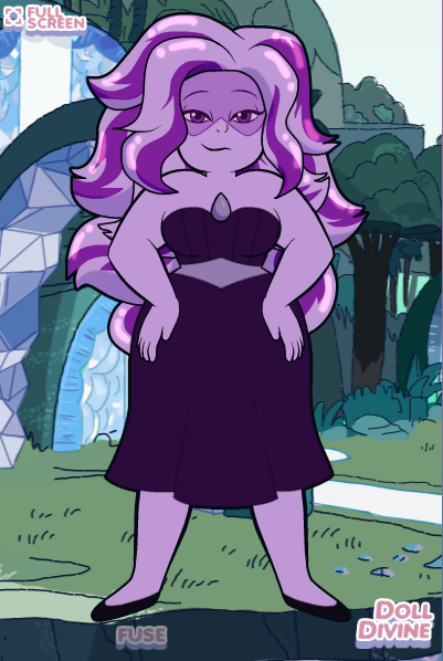 The other Crystal Gems Purple10