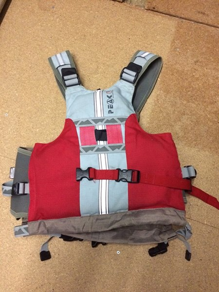 Looking for Helmet and river PFD. 12341010
