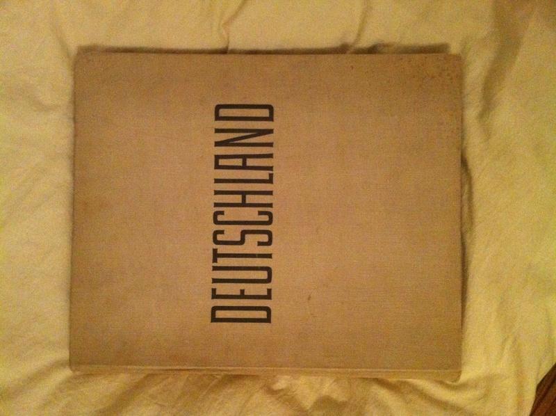 livre deustchland 1937 Img_7124
