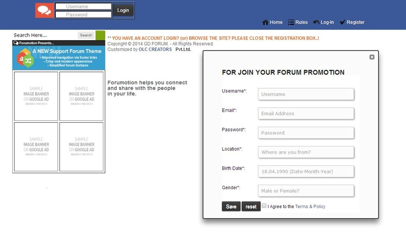Introducing New Facebook style Sign Up home page Design Signup10