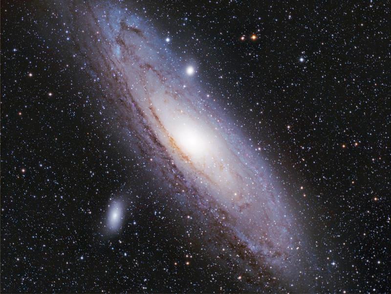 M31 galaxie Andromeda Lrvbt112