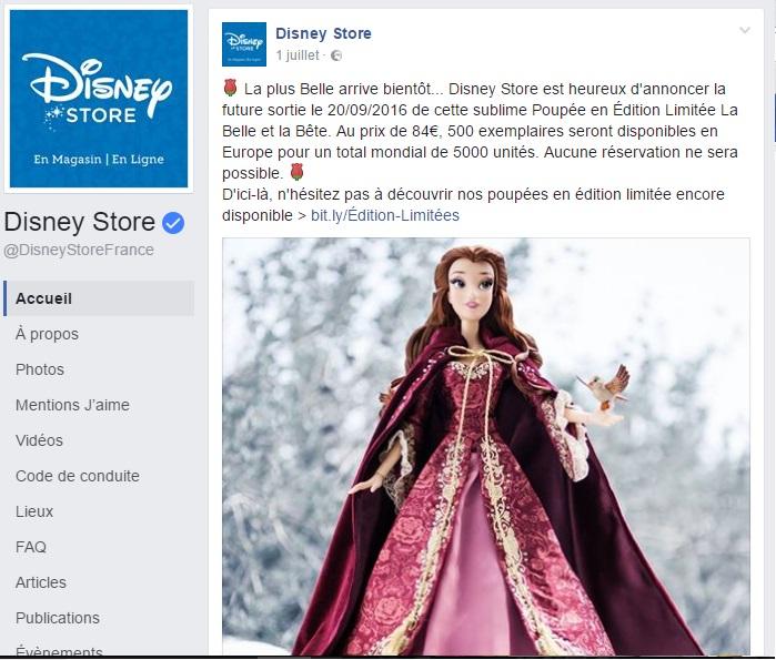 Disney Store Poupées Limited Edition 17'' (depuis 2009) - Page 39 Annonc10