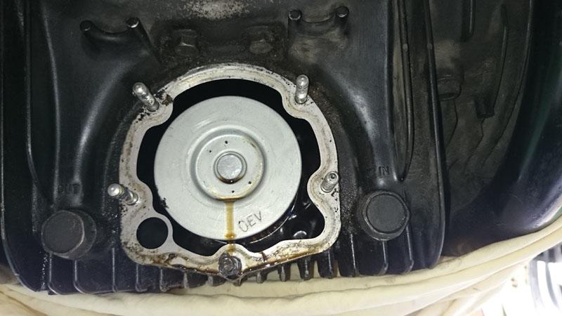 Modification pour radiateur huile sur GSX 1100 Dsc_9510