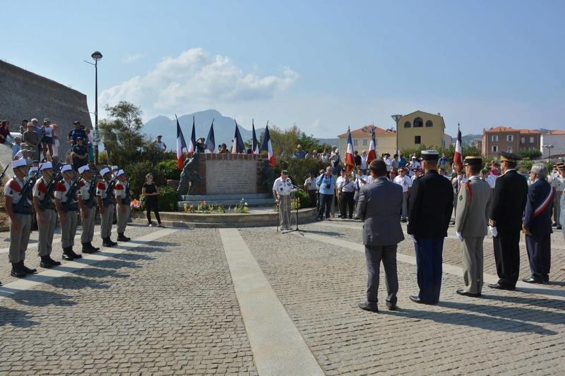 Commémoration du 73e anniversaire de la libération de la Corse 2rep10