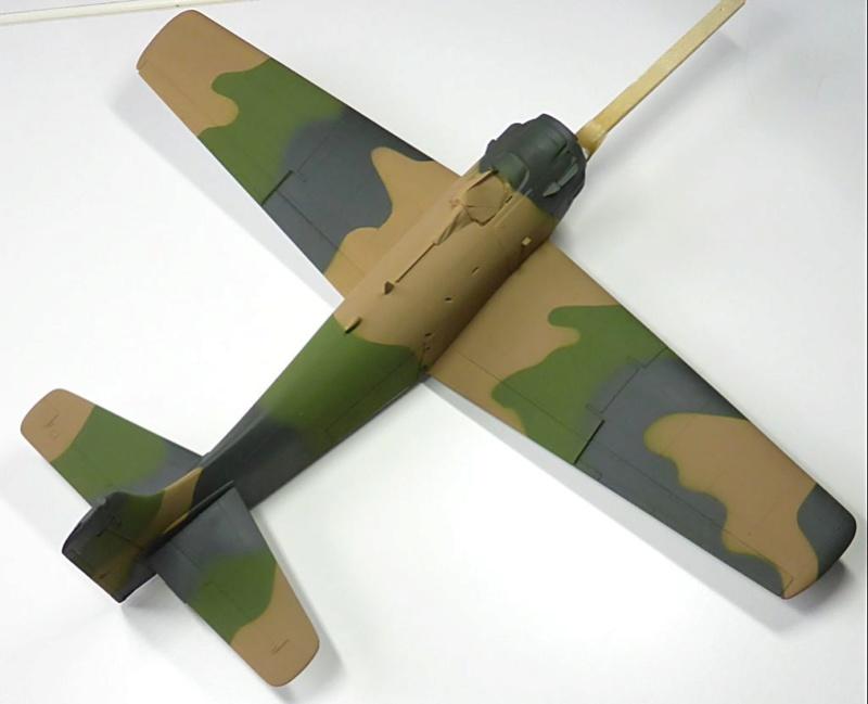 [TAMIYA] Douglas A1 Skyraider: rénovation d'un souvenir - Page 3 Skyr4210
